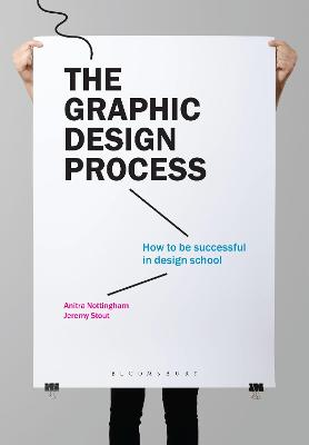 The Graphic Design Process: How to be successful in design school book