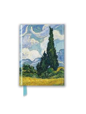 Vincent Van Gogh: Wheat Field with Cypresses (Foiled Pocket Journal) by Flame Tree Studio