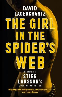 Girl in the Spider's Web book
