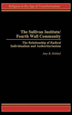 Sullivan Institute/Fourth Wall Community by Amy Siskind