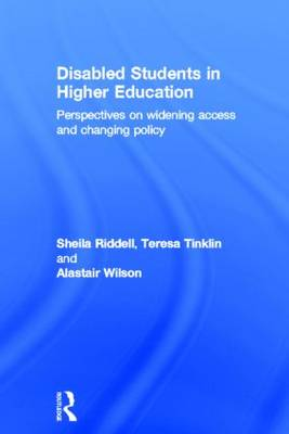 Disabled Students in Higher Education by Professor Sheila Riddell