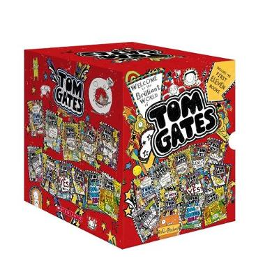 Tom Gates 1-11 Boxed Set by Pichon,Liz