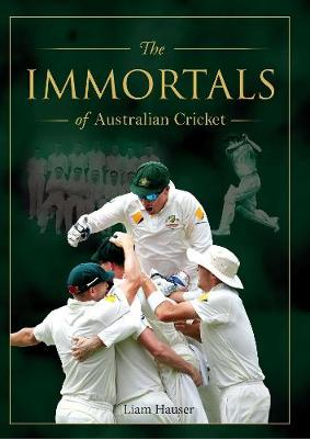 Immortals of Cricket book