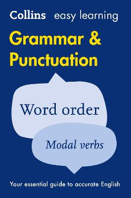 Easy Learning Grammar and Punctuation by Collins Dictionaries