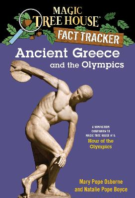 Magic Tree House Fact Tracker #10 Ancient Greece And The Olympics by Mary Pope Osborne