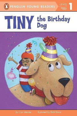 Tiny the Birthday Dog book