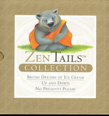 """Zen Tails Collection: """"Bruno Dreams of Ice Cream"""", """"Up and Down"""", """"No Presents Please"""" by Peter Whitfield"""