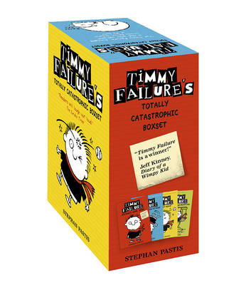 Timmy Failure Totally Catastrophic Boxset by Stephan Pastis