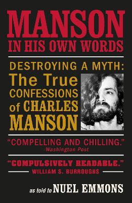 Manson in His Own Words book
