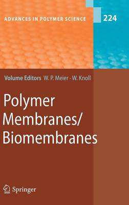 Polymer Membranes/Biomembranes by Wolfgang Meier