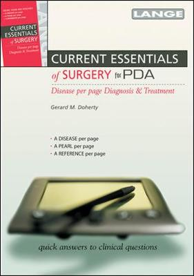 Current Essentials of Surgery by Gerard M. Doherty