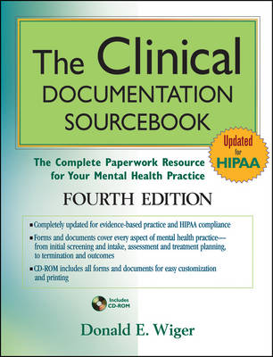 Clinical Documentation Sourcebook by Donald E. Wiger