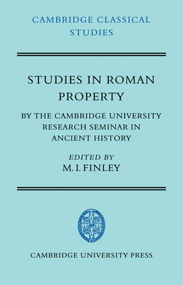 Studies in Roman Property book