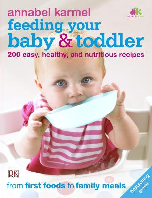 Feeding Your Baby and Toddler book