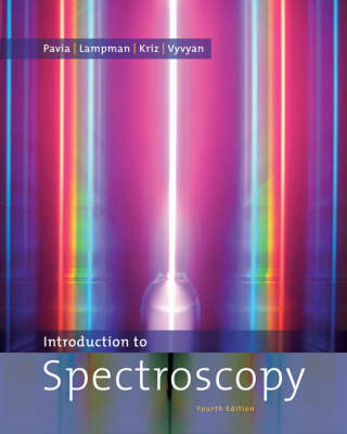 Introduction to Spectroscopy by Donald L. Pavia