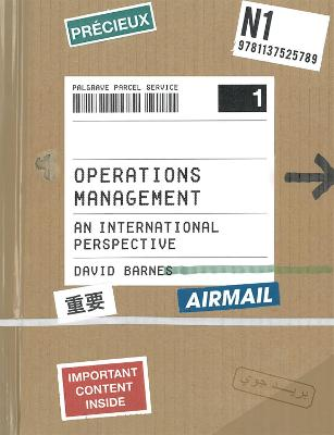 Operations Management by David Barnes