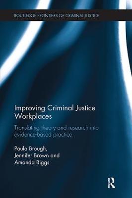 Improving Criminal Justice Workplaces book