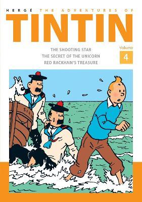 Adventures of Tintin Volume 4 book