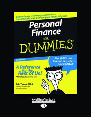 Personal Finance for Dummies(R) (2 Volume Set) by Eric Tyson