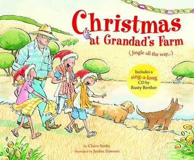 Christmas at Grandad's Farm by Claire Saxby