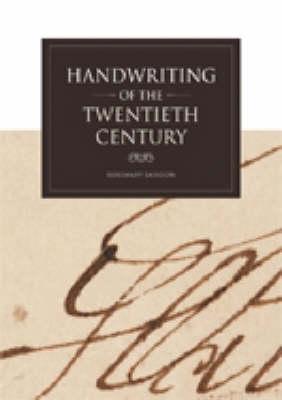 Handwriting of the Twentieth Century by Rosemary Sassoon
