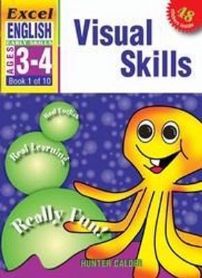 Visual Skills: Excel English Early Skills Ages 3-4: Book 1 of 10 book
