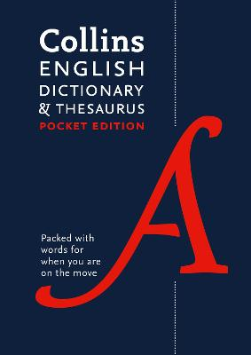 Collins English Dictionary and Thesaurus Pocket edition by Collins Dictionaries