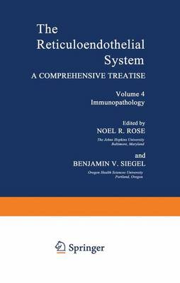 Volume 4 Immunopathology by Noel R Rose
