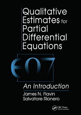 Qualitative Estimates For Partial Differential Equations: An Introduction book