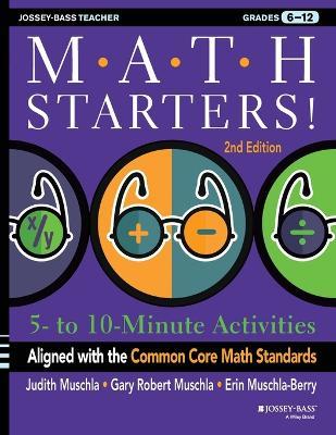 Math Starters by Judith A. Muschla