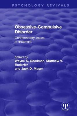Obsessive-Compulsive Disorder: Contemporary Issues in Treatment book