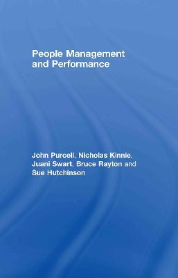 People Management and Performance by John Purcell