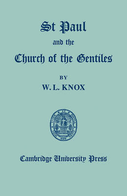 St Paul and the Church of the Gentiles book