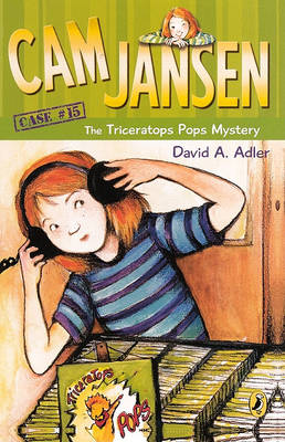 The Triceratops Pops Mystery by David A Adler