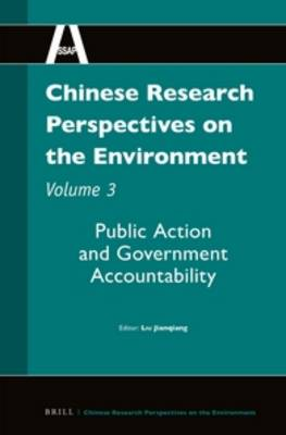 Chinese Research Perspectives on the Environment, Volume 3 by Liu Jianqiang