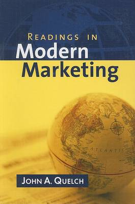 Readings in Modern Marketing book