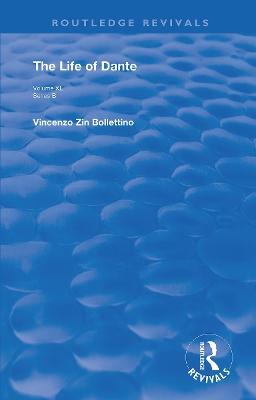 The Life of Dante by Giovanni Boccaccio