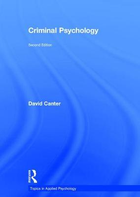 Criminal Psychology book