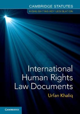 International Human Rights Law Documents book