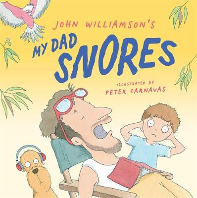 My Dad Snores book
