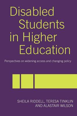 Disabled Students in Higher Education book