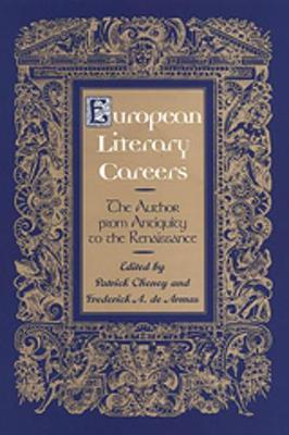 European Literary Careers by Patrick Cheney