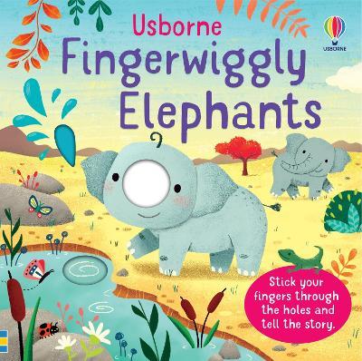 Fingerwiggly Elephants book