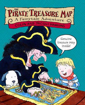 Pirate Treasure Map by Colin Hawkins