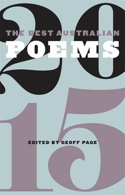 Best Australian Poems 2015 book