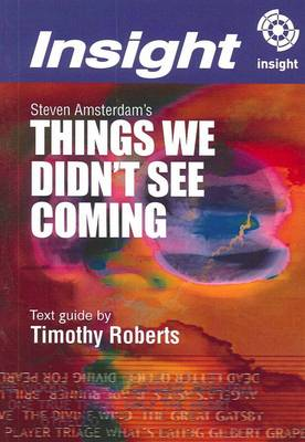 Steven Amsterdam's Things We Didn't See Coming book