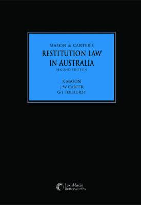 Restitution Law in Australia by Carter Mason