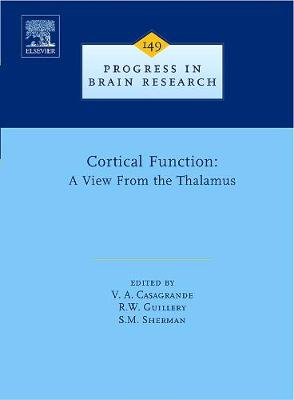 Cortical Function: a View from the Thalamus book