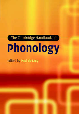 Cambridge Handbook of Phonology book