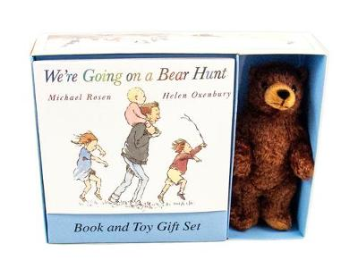 WE'RE GOING ON A BEAR HUNT BOOK AND PLUSH by Michael Rosen
